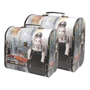 2-tlg. Box-Set Audrey Hepburn aus Kunstleder von..