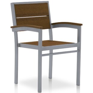 Katreesha Stacking Patio Dining Chair