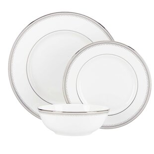Belle Haven Bone China 3 Piece Place Setting, Service for 1