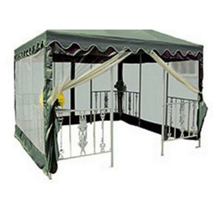 10' W x 10' D Gazebo Screen by DC America