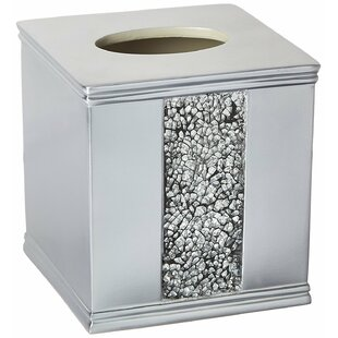 House of Hampton Latrobe Bath Bedazzled Bling Tissue Box Cover