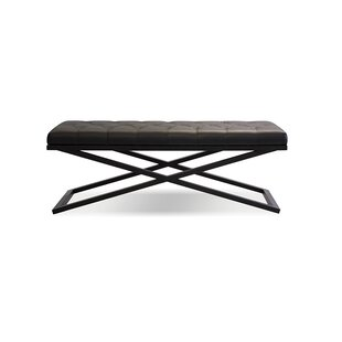 Vires Large Upholstered Bench by Latitude Run