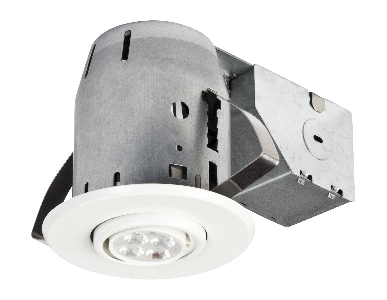 Globe Electric Company Ic Rated Swivel 3 Recessed Lighting Kit Wayfair