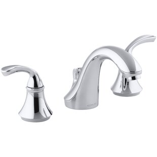 Kohler Forté Impressions Widespread Bathroom Faucet with Drain Assembly