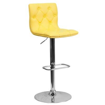 Wondrous Wade Logan Clay Adjustable Height Swivel Bar Stool Set Of 2 Cjindustries Chair Design For Home Cjindustriesco