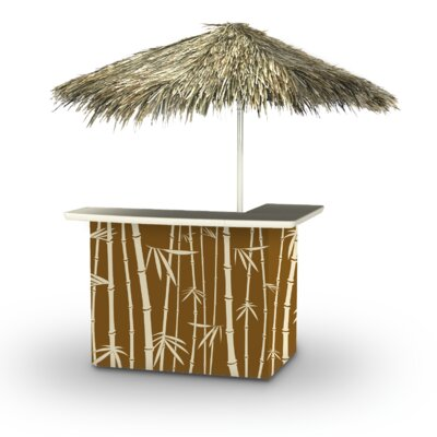 Waite Tiki Bar by Bayou Breeze Today Only Sale