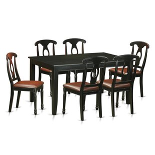 Dudley 7 Piece Dining Set by Wooden Importers 2019 Salet