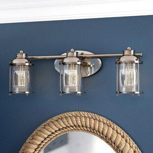 Beachcrest Home Galsworthy 3-Light Vanity Light