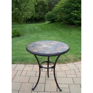 Stone Art Metal Bistro Table