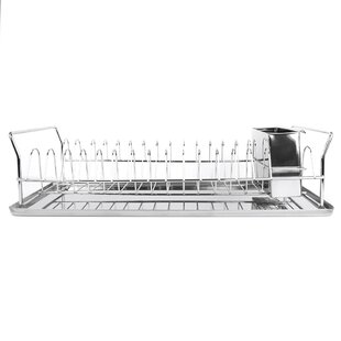 Chrome Plated Steel Compact Dish Rack