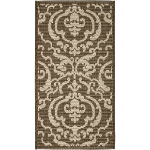 Herefordshire Chocolate/Natural Indoor/Outdoor Area Rug