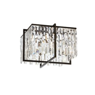 Faunia 4-Light Flush Mount by Willa Arlo Interiors