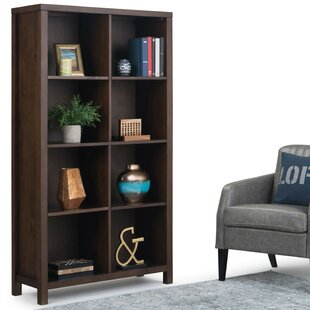 Mcadams Standard Bookcase by Millwood Pines
