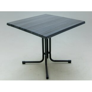 Review Cockfosters Folding Steel And Wood Bistro Table