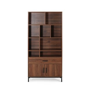 Westlund Faux Wood Standard Bookcase by Wrought Studio SKU:CE294173 Purchase