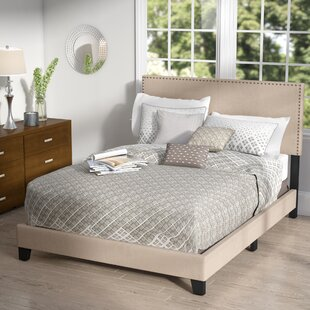 Minos Queen Upholstered Platform Bed
