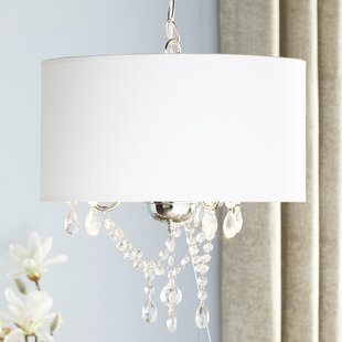 Compare Summers 3-Light Chandelier By Rosdorf Park