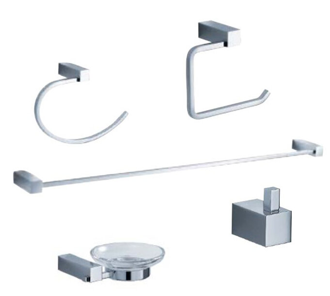 Fresca Ottimo 5 Piece Bathroom Hardware Set Reviews Wayfair