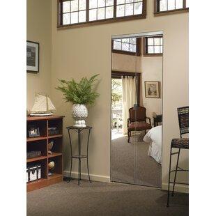 Manufactured Wood Mirrored Bi Fold Door