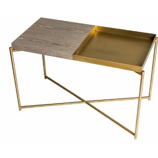 Iris Metal Frame Side Table