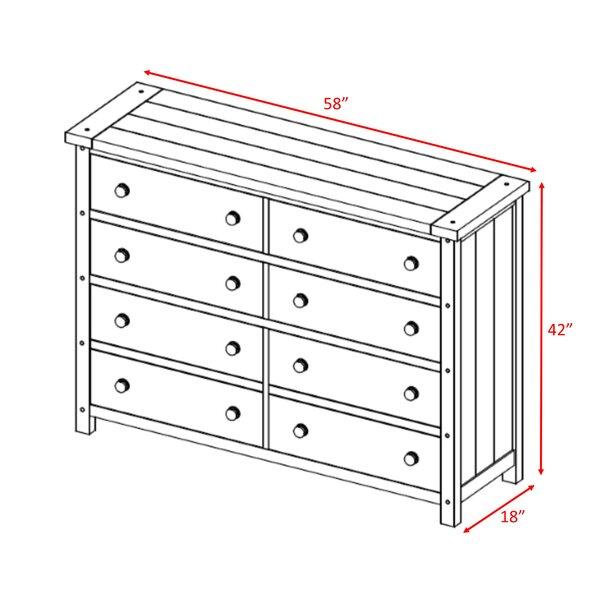 Bantice 6 Drawer 58'' W