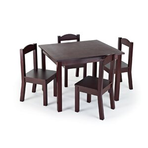 tatianna kids 5 piece table and chair set
