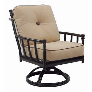 Provence Swivel Rocking Chair with Cushion