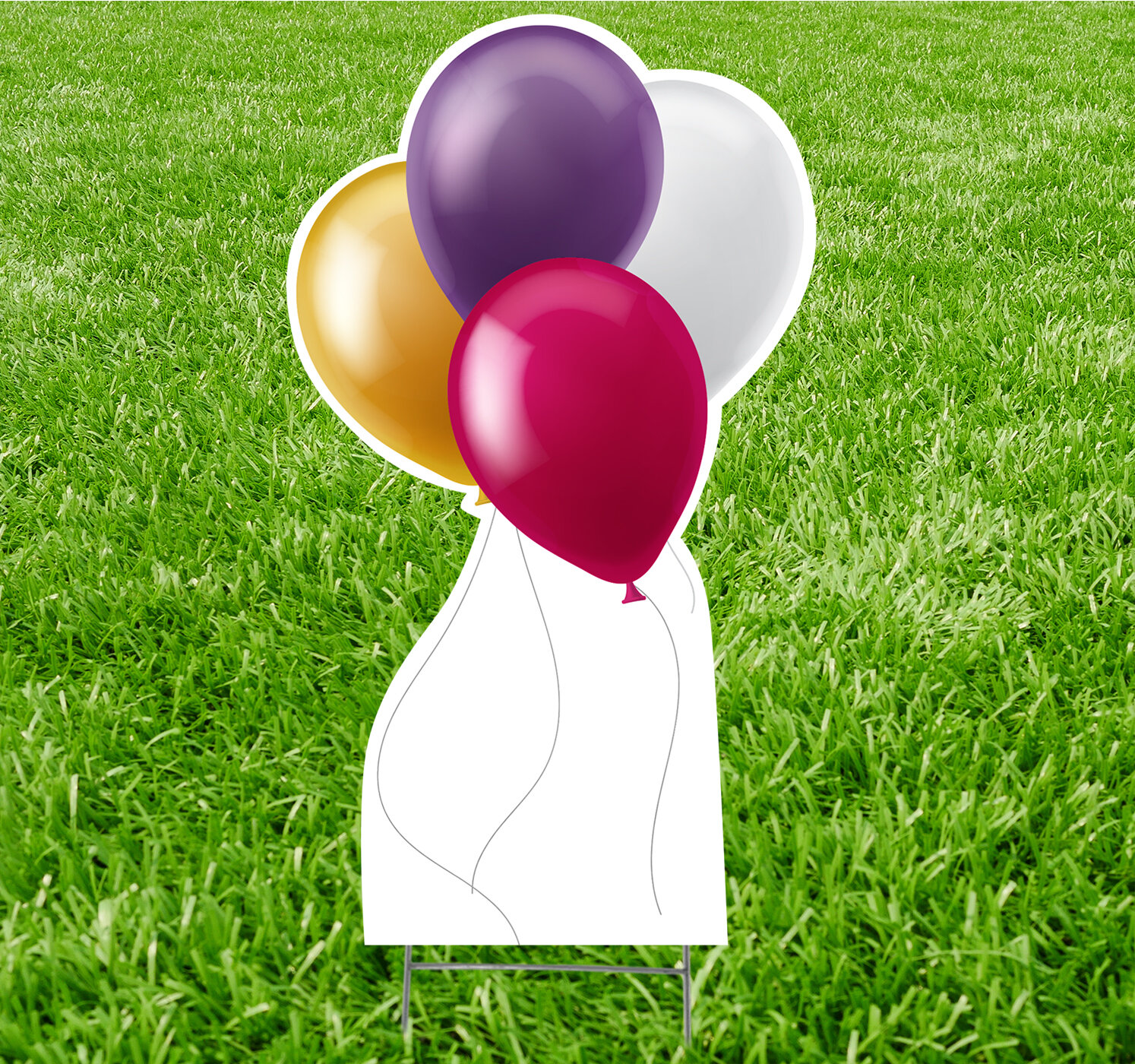 Trinx Balloons Yard Garden Stake Wayfair Ca