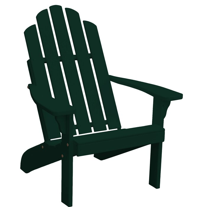 Rivale Solid Wood Adirondack Chair