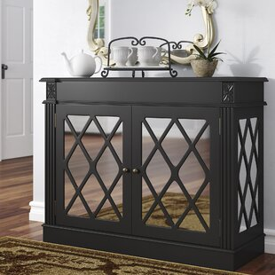 Cheetham Mirrored 2 Door Accent Cabinet