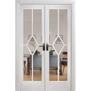 Reims Solid Mdf Room Divider Slab French Door By Lpd Doors