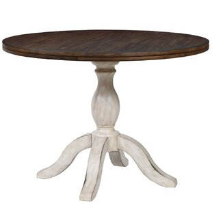 Culbertson Solid Wood Dining Table Ophelia & Co.