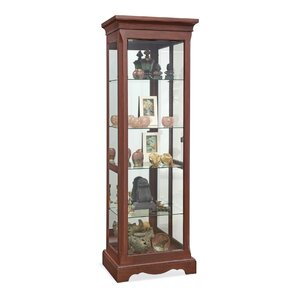 Hawthorne Lighted Curio Cabinet by Philip Reinisch Co.