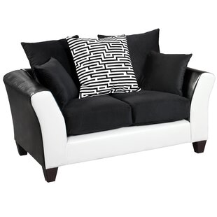 Dilorenzo Modern Implosion Loveseat by Latitude Run Best #1