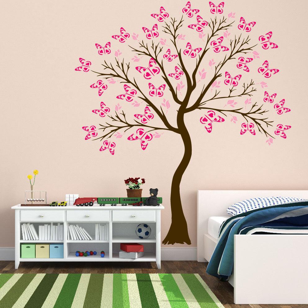 Innovative Stencils Cherry Blossom Tree Baby Nursery Decal Wayfair