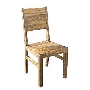 Davalos Solid Wood Dining Chair (Set Of 2) By Natur Pur