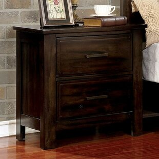 Baptiste 2 Drawer Nightstand by Foundry Select