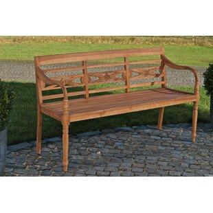 Ransart Teak Bench By Sol 72 Outdoor