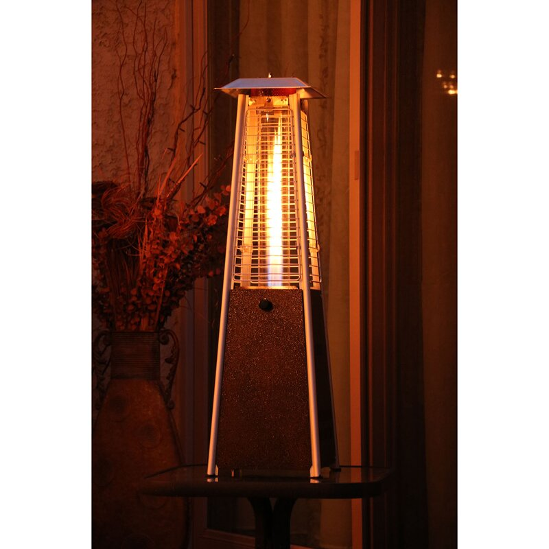 Mini Pyramid 9500 BTU Propane Tabletop Patio Heater