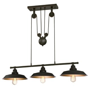 Best Alayna 3-Light Kitchen Island Pendant By Trent Austin Design