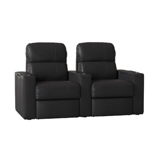 Home Theater Recliner (Row of 2) ByRed Barrel Studio