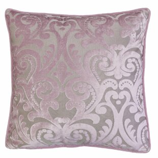 Boes Cut 100% Velvet Throw Pillow by House of Hampton Cool