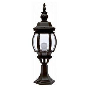 Twomey 1-Light Pedestal Light By Sol 72 Outdoor