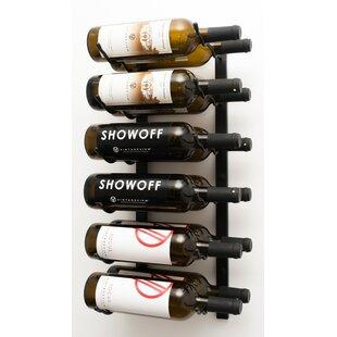 12 Bottle Wall Mounted Wine Rack By Symple Stuff