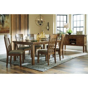 Fia 7 Piece Extendable Dining Set by Millwood Pines