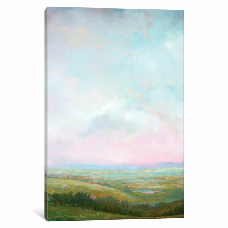 East Urban Home Evening Glow By William Mccarthy Painting Print On Wrapped Canvas Wayfair