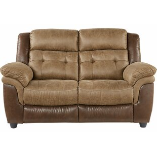 Heider Reclining Loveseat Red Barrel Studio
