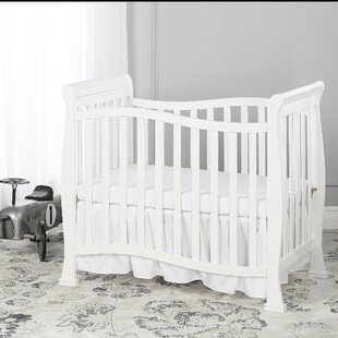 Affordable Piper 4-in-1 Convertible Mini Crib By Dream On Me