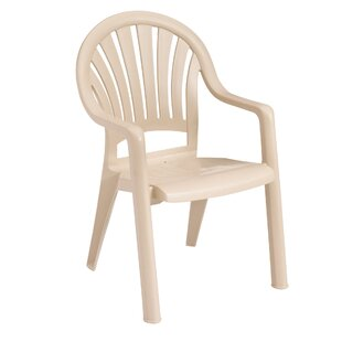 Pacific Stacking Patio Dining Chair (Set of 4)