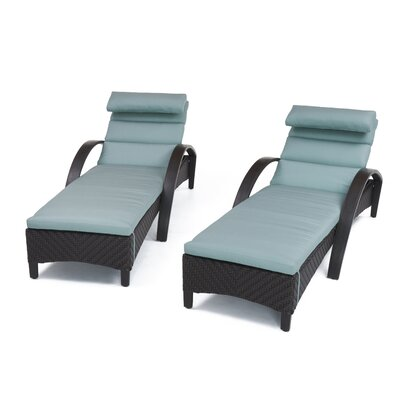 Swell Sol 72 Outdoor Cerralvo Contemporary Reclining Chaise Lounge Pdpeps Interior Chair Design Pdpepsorg
